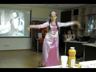 27.05.2012   танец под музыку Саят Новы
