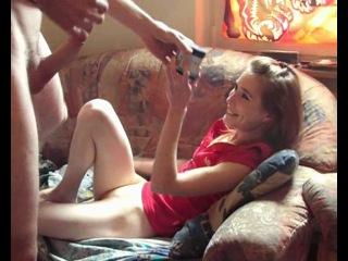 Любительская ебля с рыжей девкой